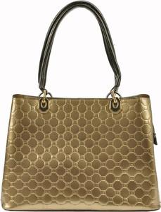 Złota torebka Pierre Cardin do ręki