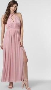 Różowa sukienka Lipsy maxi