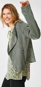 Kurtka The Outerwear z zamszu krótka