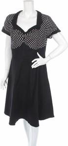 Sukienka Acevog z krótkim rękawem mini w stylu casual