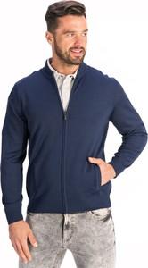 Granatowy sweter Lanieri
