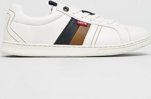 b4b0833777a4c Białe buty męskie Levis, kolekcja wiosna 2019