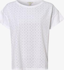 Bluzka Esprit z krótkim rękawem z okrągłym dekoltem