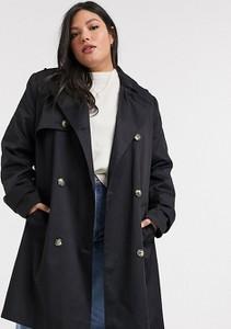 Czarny płaszcz Asos