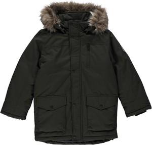 Czarna kurtka dziecięca Name it dla chłopców