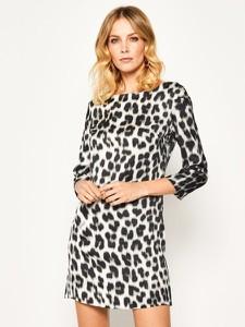 Sukienka Just Cavalli prosta mini w stylu casual