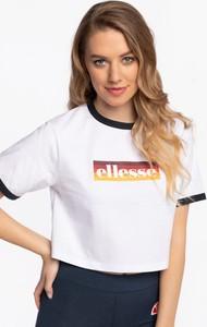 T-shirt Ellesse z krótkim rękawem w sportowym stylu z okrągłym dekoltem