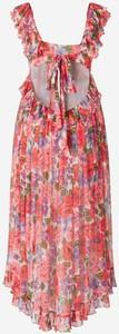 Sukienka Zimmermann maxi na ramiączkach