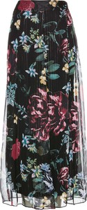 Spódnica bonprix bpc selection premium w stylu boho z szyfonu