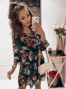 Sukienka magmac.pl z długim rękawem mini