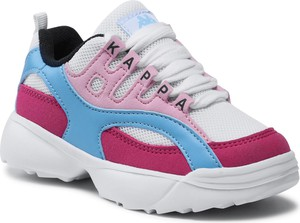 Buty sportowe dziecięce Kappa sznurowane dla dziewczynek