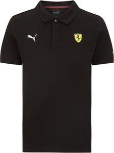 Koszulka dziecięca Scuderia Ferrari F1 Team z bawełny dla chłopców