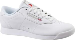 Buty sportowe Reebok z płaską podeszwą w młodzieżowym stylu