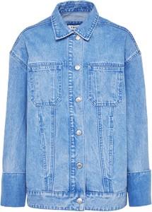 Kurtka edited the label w stylu casual z jeansu