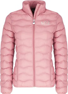 Różowa kurtka Emporio Armani krótka