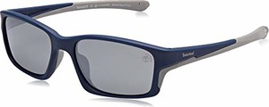 amazon.de Timberland TB9172 męskie okulary przeciwsłoneczne, niebieskie (matowy niebieski/Smoke Polarized), 57