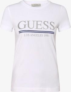 T-shirt Guess Jeans z krótkim rękawem w stylu casual