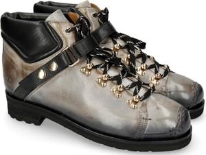 Buty zimowe Melvin & Hamilton ze skóry sznurowane