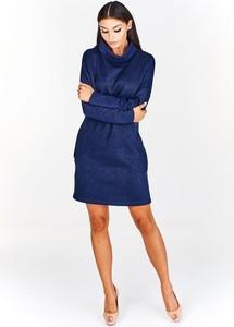 Sukienka Fokus w stylu klasycznym z tkaniny midi