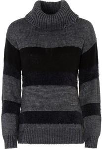Czarny sweter Ochnik w stylu casual z dzianiny