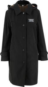 Czarna kurtka Burberry w stylu casual