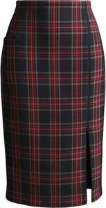 Czerwona spódnica RISK made in warsaw