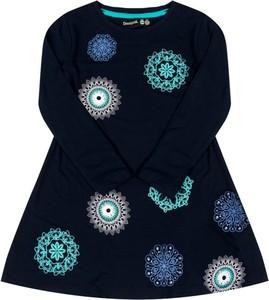 Granatowa sukienka dziewczęca Desigual