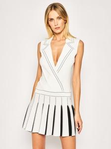Sukienka Elisabetta Franchi mini z dekoltem w kształcie litery v