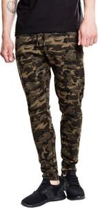 Spodnie sportowe Urban Classics z dresówki w militarnym stylu