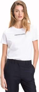 T-shirt Tommy Hilfiger z krótkim rękawem z okrągłym dekoltem