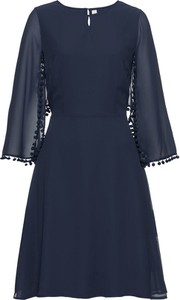 Granatowa sukienka bonprix bodyflirt boutique midi