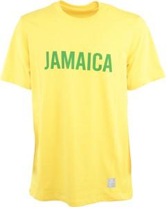 Żółty t-shirt Department Five z bawełny w młodzieżowym stylu