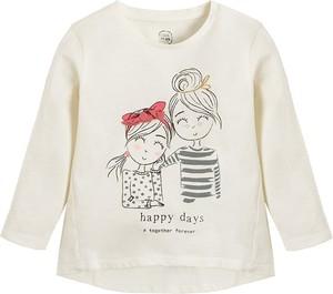 Bluzka dziecięca Cool Club z bawełny z długim rękawem dla dziewczynek