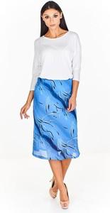 Niebieska spódnica Fokus