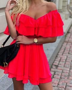 Sukienka Kendallme z krótkim rękawem hiszpanka