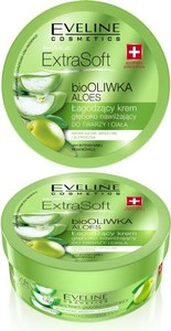 Eveline Extra Soft łagodzący krem do twarzy i ciała głęboko nawilżający S.O.S. bio oliwka aloes 175 ml