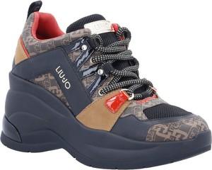 Buty sportowe Liu-Jo revolution na platformie sznurowane