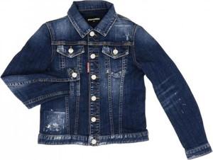 Kurtka dziecięca Dsquared2 z jeansu