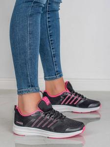 Buty sportowe Czasnabuty z płaską podeszwą sznurowane