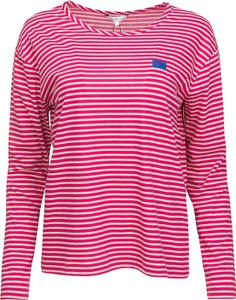 T-shirt Tommy Hilfiger z bawełny w stylu casual z długim rękawem