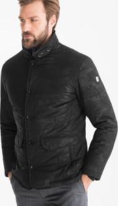 Czarna kurtka Westbury Premium z bawełny
