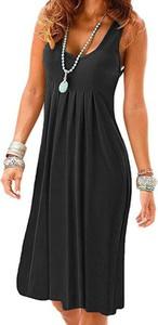Sukienka Cikelly maxi na ramiączkach z bawełny