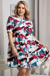 Sukienka KARKO szmizjerka hiszpanka mini