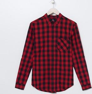 Czerwona koszula Sinsay