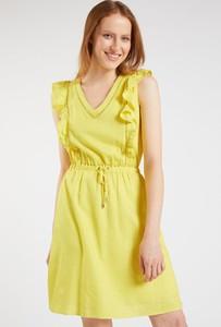 Sukienka Monnari mini w stylu casual z dekoltem w kształcie litery v