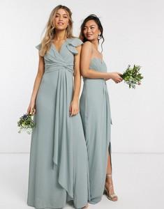 Zielona sukienka Tfnc maxi
