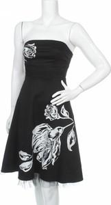 Czarna sukienka Bay bez rękawów mini