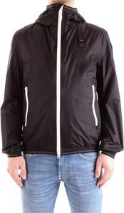 Czarna kurtka Blauer Usa w stylu casual krótka