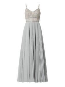 Sukienka Unique z szyfonu na ramiączkach maxi