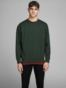 Zielona bluza Jack & Jones z bawełny